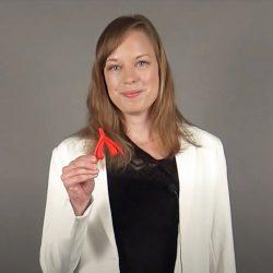 Kurslärare Olivia Landén